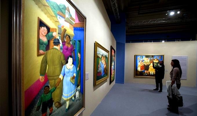 """Botero presenta en Roma su retrospectiva """"de inspiración latinoamericana"""""""