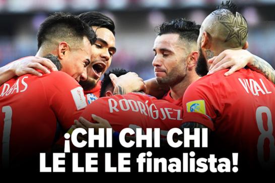 Chile gana en penales a Portugal y pasa a la final de la Copa Confederaciones