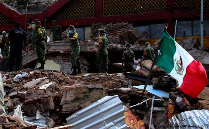 Ascienden a 224 los muertos en el terremoto de México
