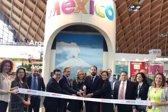 México inaugura pabellón en Feria Internacional de Turismo en Italia