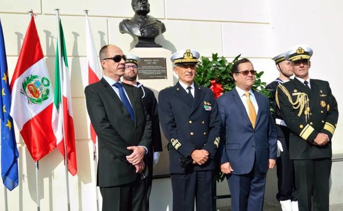 Conmemoración por el Aniversario de la Marina de Guerra del Perú en Génova, Italia