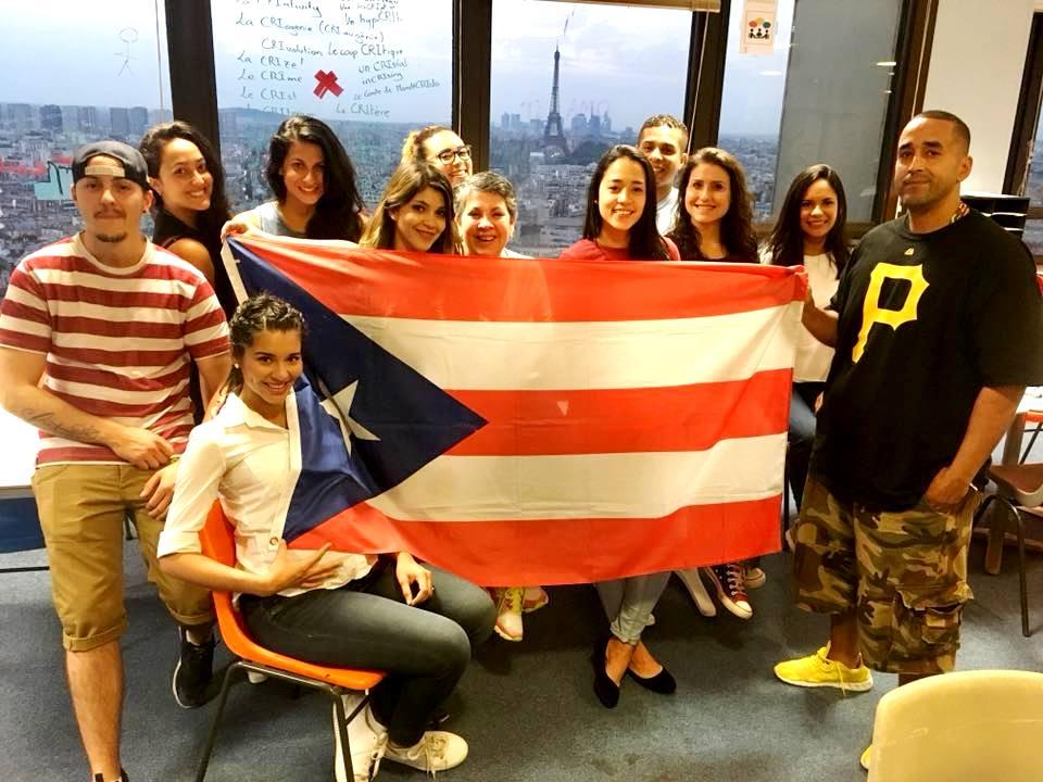 Puertorriqueños se activan en Francia para enviar ayuda a sus compatriotas