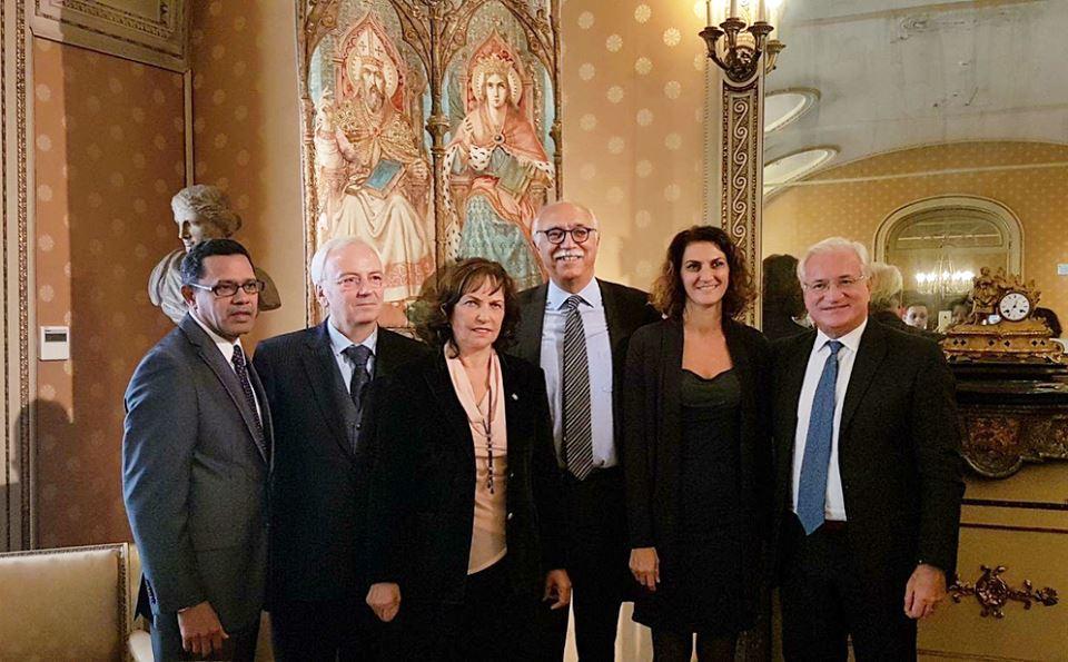 Autoridades dominicanas dialogan con representantes de la Universidad de Pavía