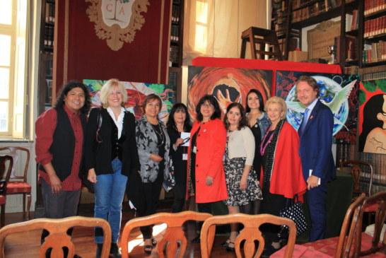 Delegación de 50 productores peruanos presentan el Pisco en Italia