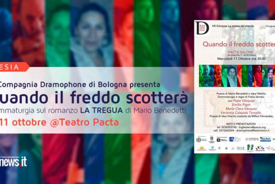 La Compagnia Dramophone di Bologna presenta drammaturgia 'Quando il freddo scotterà'