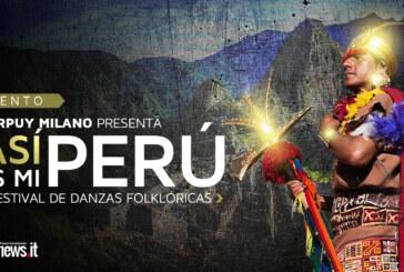 """Tarpuy Milano presenta II Festival de Danzas Folklóricas """"Así es mi Perú"""""""