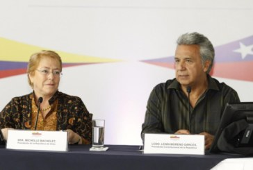 Moreno y Bachelet coinciden en la necesidad de estrechar las relaciones