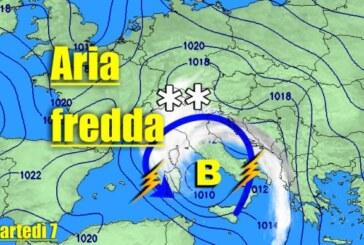 ITALIA: dal 7 al 13 Novembre, nel pieno dell'ondata di MALTEMPO