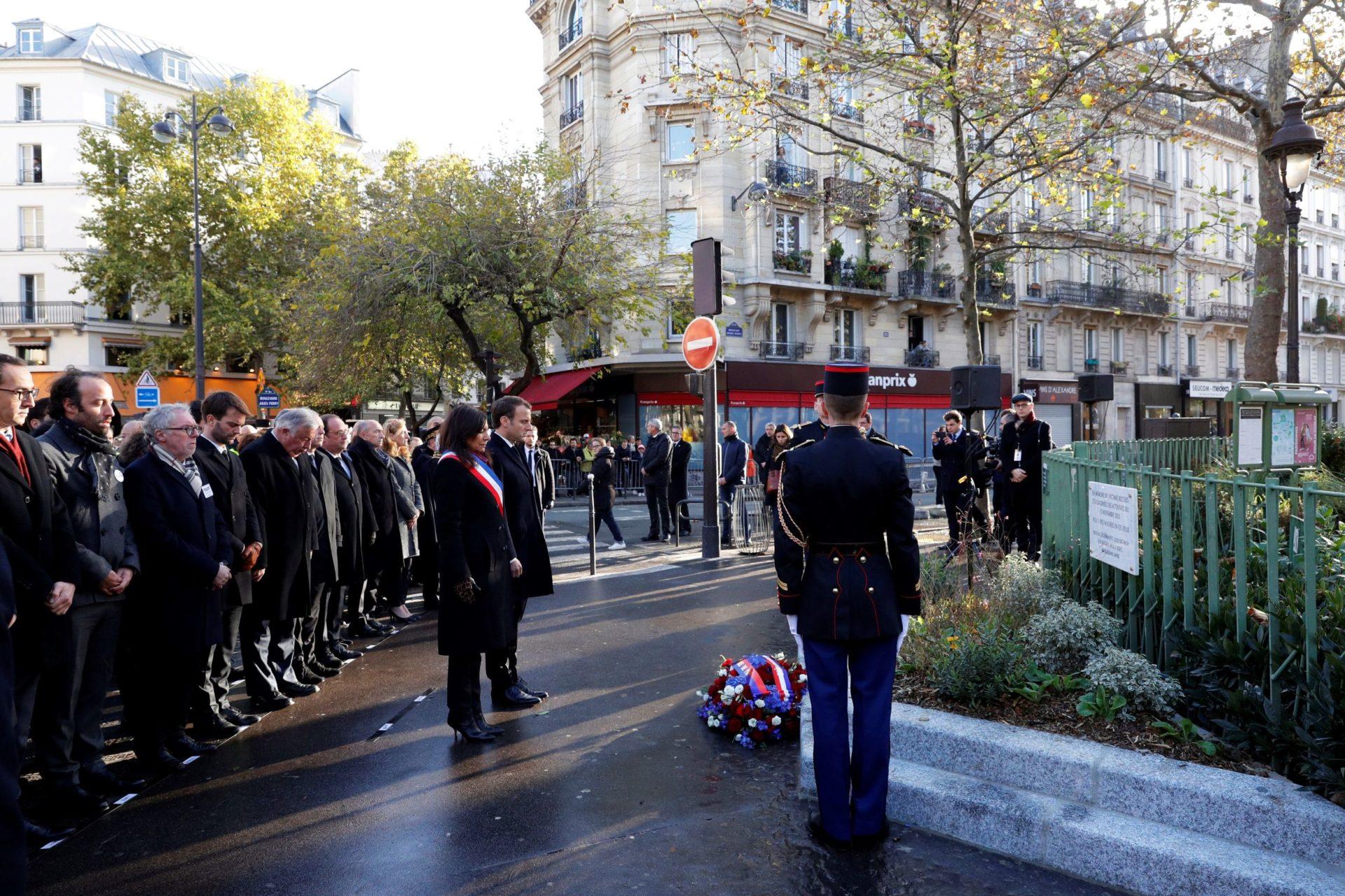 Francia recuerda a las víctimas dos años después de su peor atentado terrorista