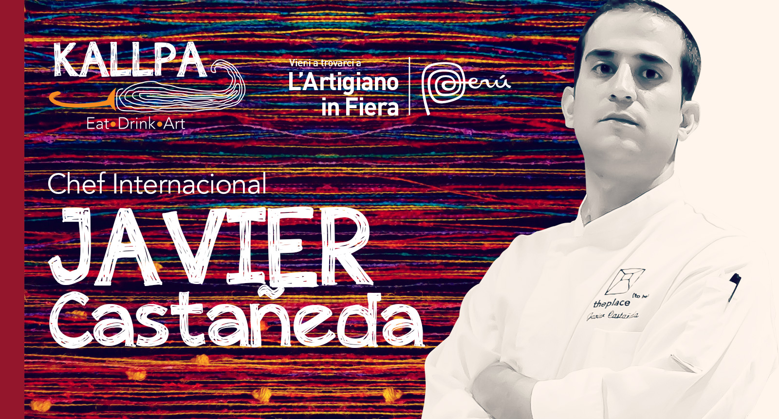 Lo chef Javier Castañeda, dal Santa Barbara di Madrid all'Artigiano in Fiera