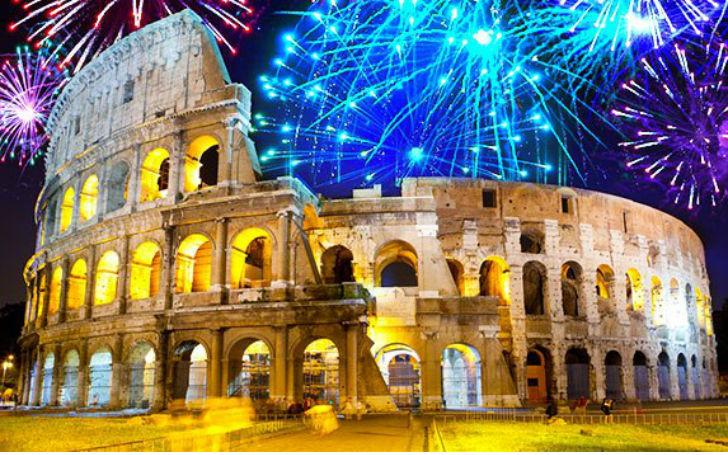 Roma, 24 horas de fiesta por el Año Nuevo