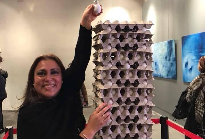 "L'artista messicana Maria Teresa Gonzalez partecipa nella Mostra ""al di là dei limiti """