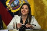 María Alejandra Vicuña es la nueva vicepresidenta de Ecuador