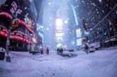 Invierno feroz en el hemisferio Norte