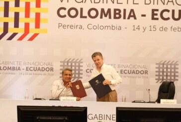 Colombia y Ecuador refuerzan su integración y la labor conjunta en la frontera