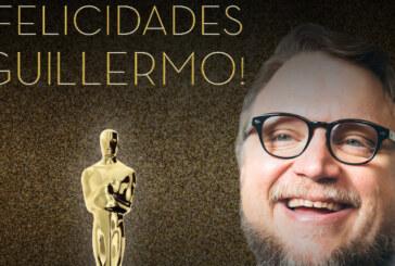 Mexicanos celebran los Oscar de Guillermo del Toro