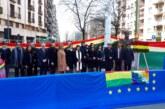 Bolivia conmemoró el Día del Mar el Milán