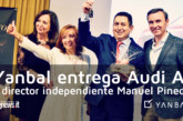 Yanbal entrega Audi A1 a Director Independiente Manuel Pineda