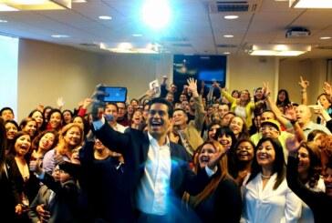 Rotundo éxito de la presentación de Ismael Cala en Milán