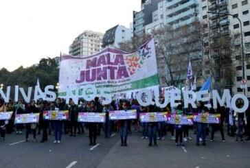 Marcha contra la violencia y por aborto legal