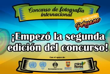 """SEGUNDA EDICIÓN DEL CONCURSO INTERNACIONAL DE FOTOGRAFÍA """"SOY MIGRANTE PERUAN"""