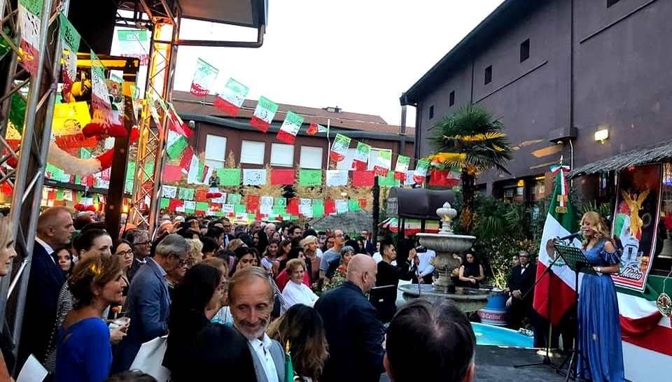 El Consulado de México en Milán conmemora el  208ª Aniversario de la Independencia de México