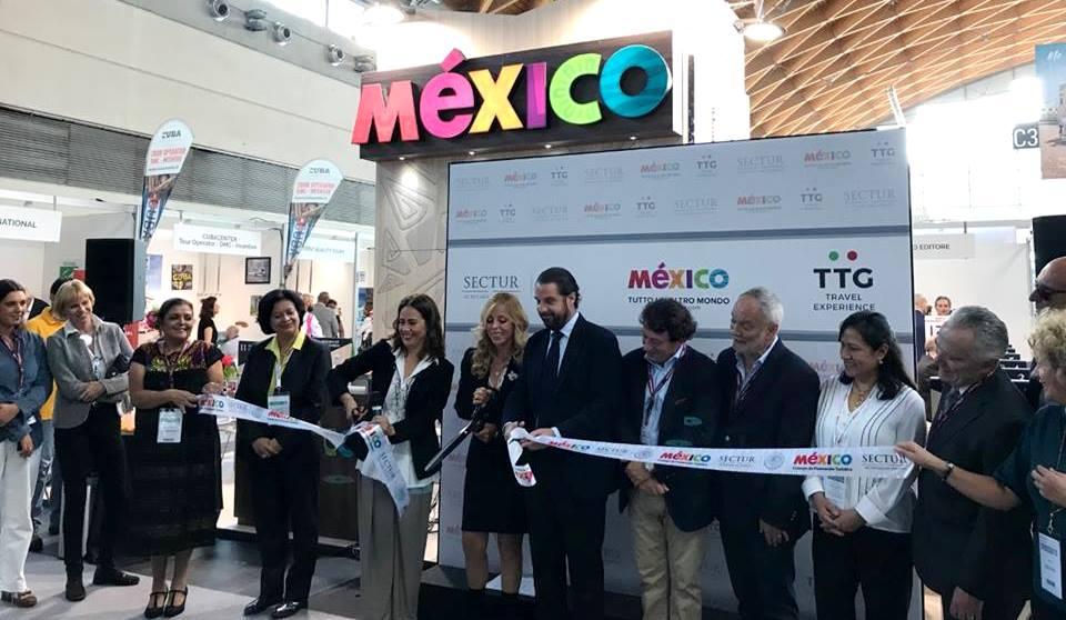 México, protagonista en la 55ª edición de la feria internacional del turismoTTG Incontri