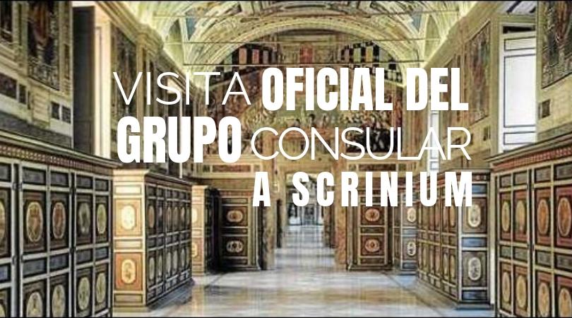 VENECIA: Visita Oficial del Grupo Consular de la América Latina y el Caraibi a Scrinium