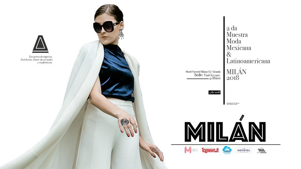 Muestra Moda Mexicana torna a Milano il 5 dicembre