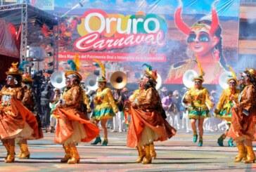 Bolivia anuncia lanzamiento de Carnaval de Oruro 2019 en feria en Londres