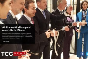 Air France-KLM inaugura i nuovi uffici a Milano
