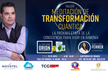 Taller de Meditación con el Dr. Zuluan Orion en Milán