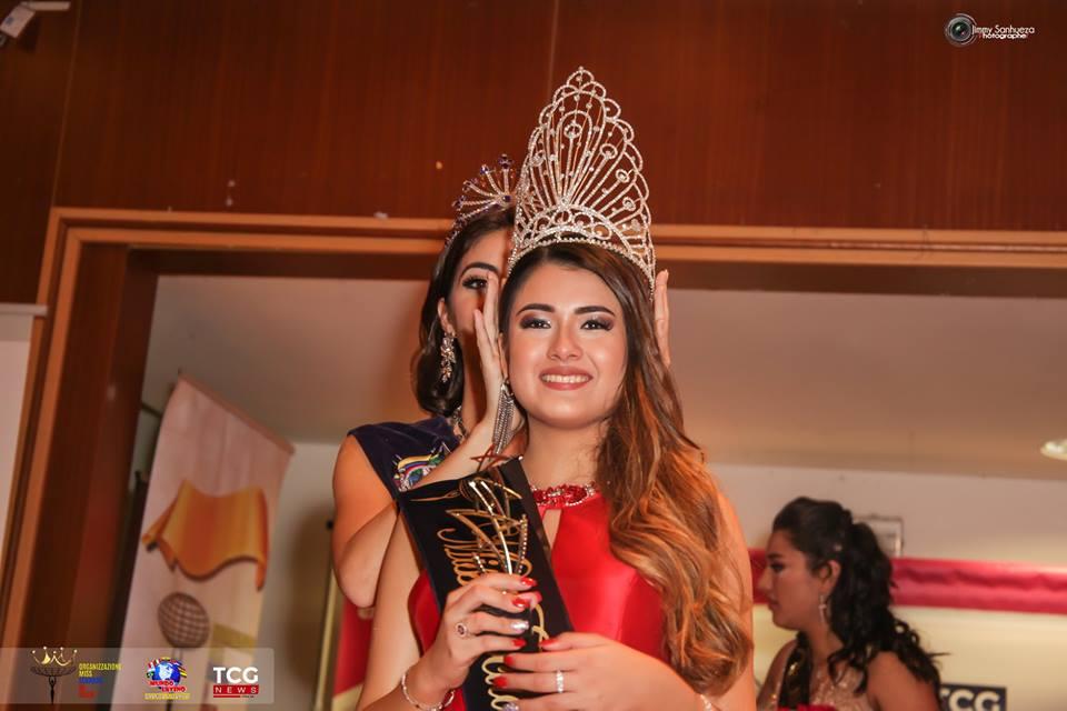 Shanara Ordoñez es la nueva Miss Ecuador en Italia  2019
