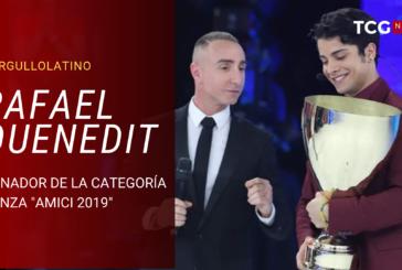 EL BAILARÍN CUBANO RAFAEL QUENEDIT TRIUNFA EN LA TV ITALIANA