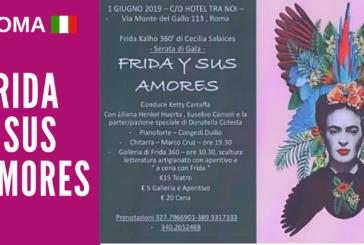 Serata di gala dedicata alla messicana Frida Kalho