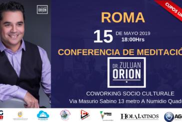 El Dr. Zuluan Orion dictará conferencia en Roma