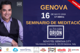 El Dr. Zuluan Orion dictará Seminario de Meditación en Génova