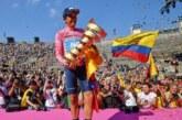 El ecuatoriano Richard Carapaz es campeón del Giro de Italia