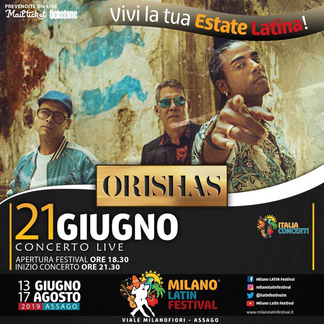 Orishas, los dioses del hip hop latino al Milano Latin FESTIVAL