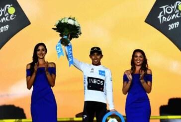 Colombiano Bernal hace historia en el Tour de Francia