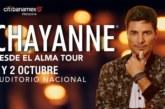 Chayanne ofrecerá tres explosivos conciertos en CDMX