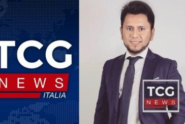 Daniel Sigua Director General de TCG News Italia