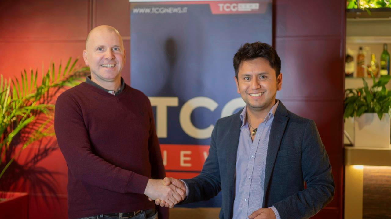 Daniel Sigua Director de la Agencia de Comunicaciones TCG News Italia