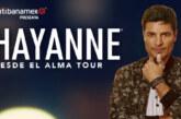 """Chayanne presentará """"Desde el Alma Tour"""" en Mexicali"""