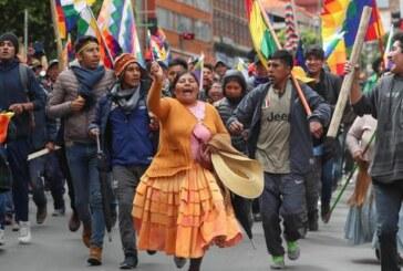 Bolivia marcha pro Evo y emisario ONU
