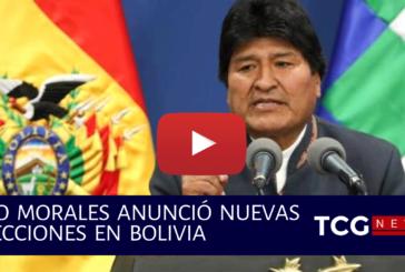 Evo Morales Anunció nuevas elecciones en Bolivia
