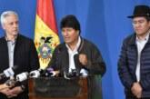 Evo Morales renuncia como presidente de Bolivia