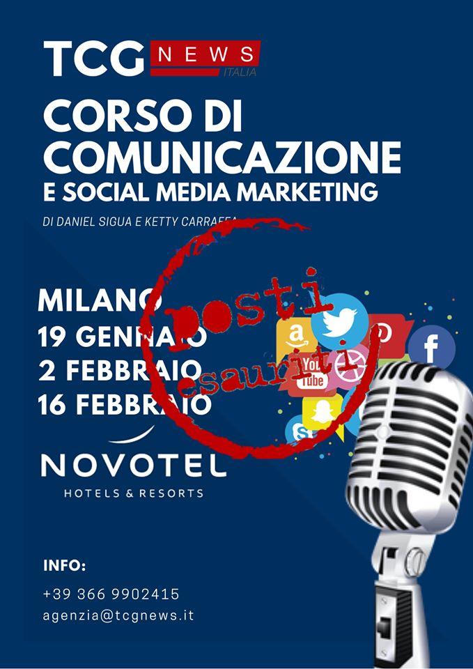 CORSO DI COMUNICAZIONE E SOCIAL MEDIA MARKETING