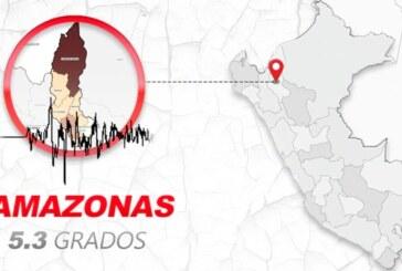 Registran un terremoto de 5,2 en el noroeste de Perú
