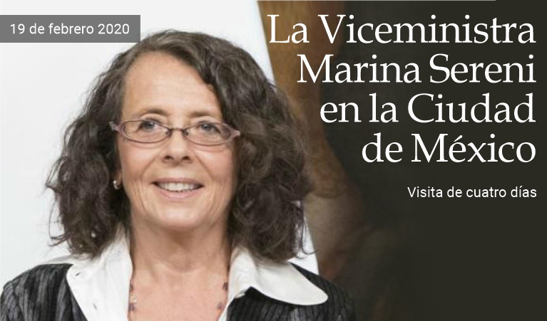 Viceministra italiana visita México